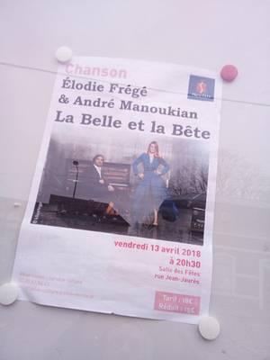 CONCERT ELODIE FREGE AVEC ANDRÉ MANOUKIAN A SECLIN ( 59 ) LE VENDREDI 13 AVRIL 2018 ( 2 )