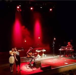 "Concert Elodie Frégé au "" Royal Northern College of Music "" a Manchester en Angleterre le 10 juin 2018"
