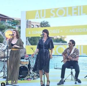 Concert Elodie Frégé a Monaco le 14 juin 2018