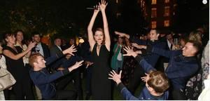 Elodie Frégé au grand luxury hotels party au ritz le 11 octobre 2018 a paris