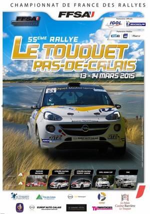 Rallye du Touquet 2015