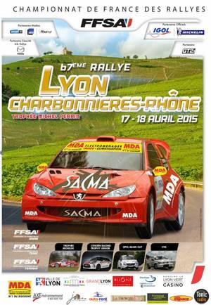 Rallye Lyon-Charbonnières 2015