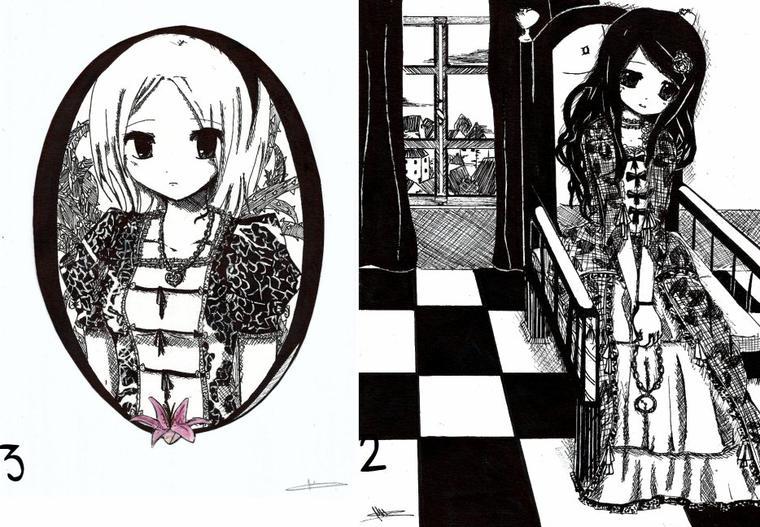 Tutoriel colorisation 1 : Noir et blanc.