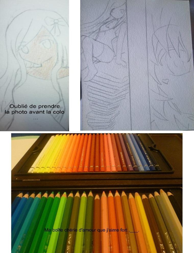 Tutoriel coloration n°5 : Les crayons aquarelles.