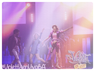 Violetta en vivo - photos exclusives !