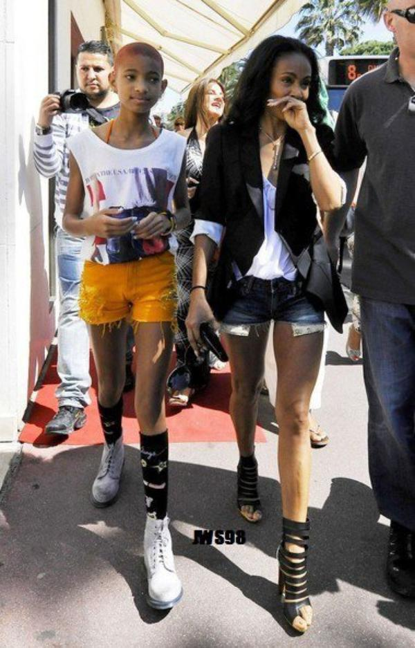 Willow a Paris et a Cannes ^^
