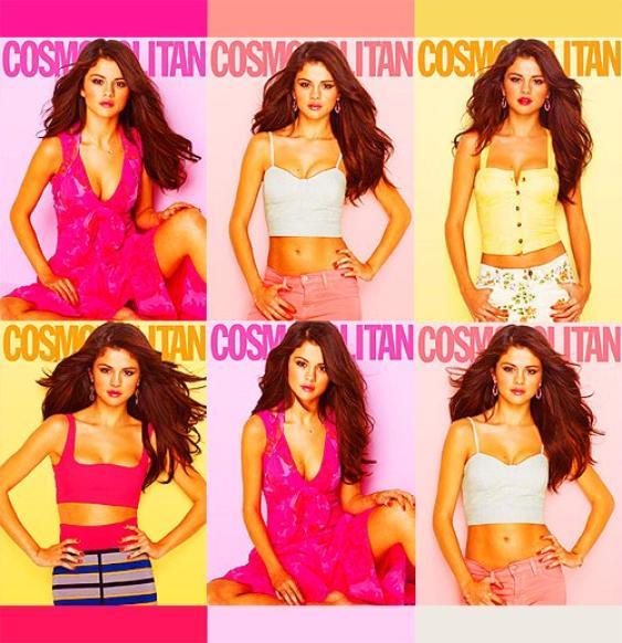 Nouveau photoshoot pour Cosmopolitan par Selena!