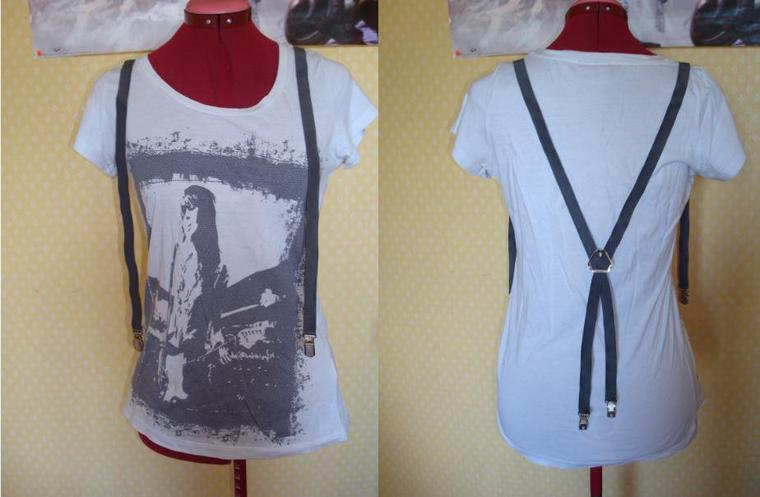 tee-shirt avec bretelles