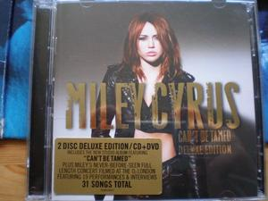 Miley Cyrus - Can't be tamed [normale et deluxe éditions]