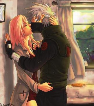 - Sakura, en couple ?  1対での、? -