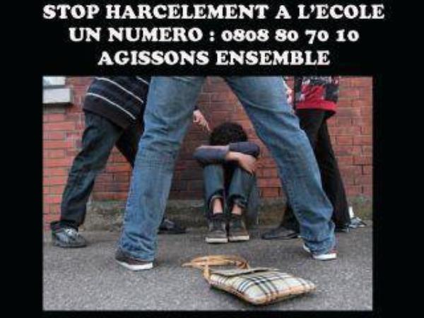 NON A LA VIOLENCE A L'ECOLE !!!!