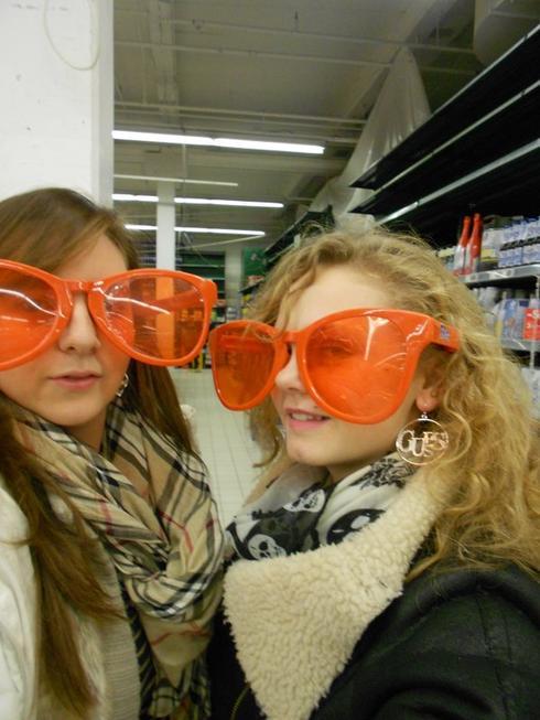 les lunettes trop fort !!!!!!
