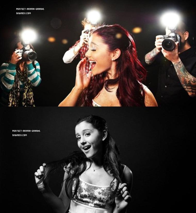 Un nouveau cover de Ariana ,juste magnifique !