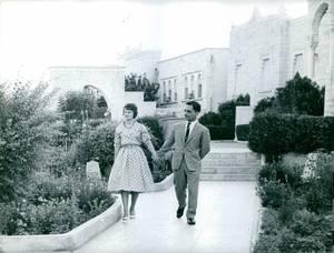 La princesse muna al-Hussein de Jordanie