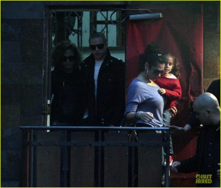 Jennifer Lopez avec ses enfants