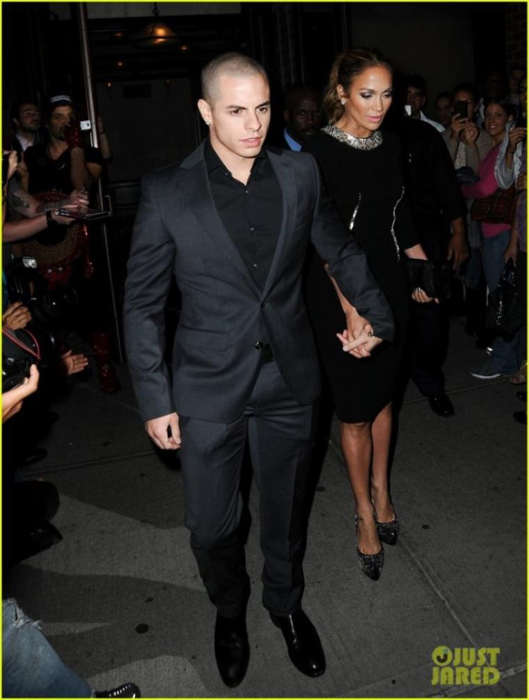 J.Lo et Casper à New-York le 12.09.2012