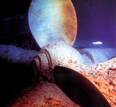 Les machines qui ont servis à propulser le Titanic