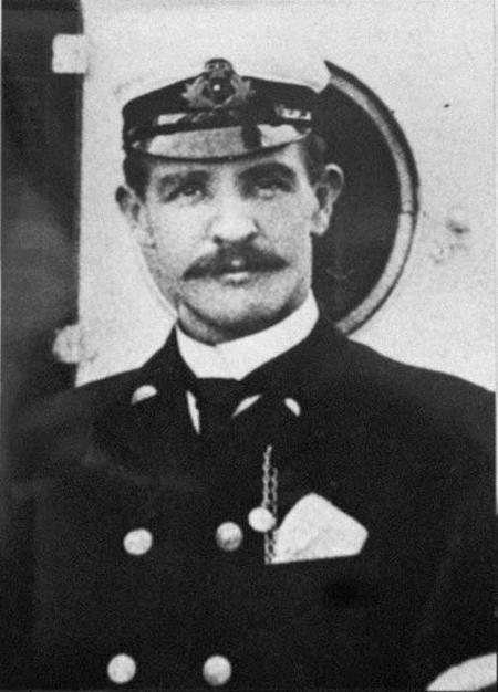 William Murdoch, le 1er officier du Titanic