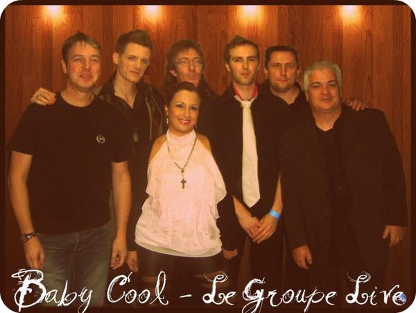 """Les membres du Groupe LIVE """"Baby Cool"""""""