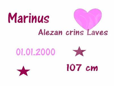 In my world, Marinus means love