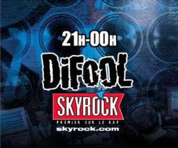 CADEAUX DE SKYROCK DIFOOL 21H-MINUIT