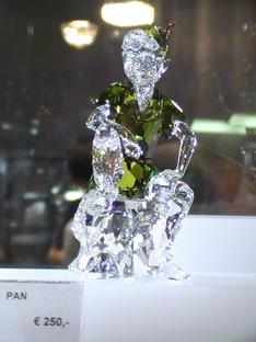 cristal de clochette et peter pan