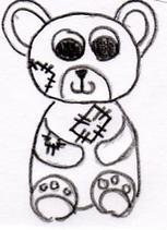 Un ours en peluche
