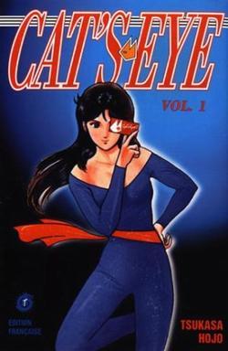 Cat's Eye - Informations sur le manga + couvertures 1ère édition (tome 1 à 7) et édition deluxe (tome 1)