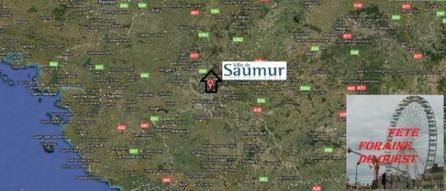 Saumur (49) La fête des Récollets des rameaux fête foraine Du 31 mars au 1 avril 2012