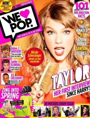 """En couverture de """"We love pop"""""""