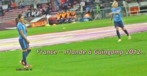 France ~ Irlande A Guigamp, Le 15 Septembre 2012..