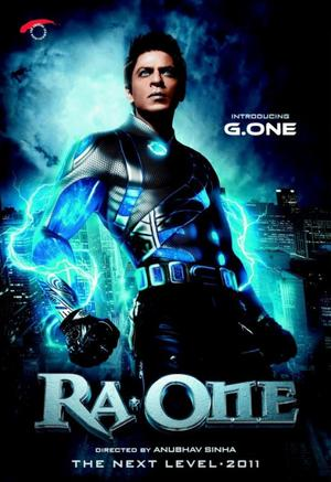Film : Bollywoodien  Ra.One 156 minutes[Science-fiction, Action et Comédie]