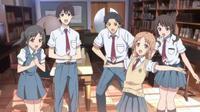 Anime Tari Tari Genre : Shojo[Romance, Amitié, Ecole et Musique]