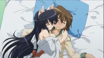 Anime Omamori Himari Genre : Shonen[Action, Comédie, Drame, Ecchi et Romance]