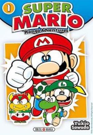 Manga Super Mario  Genre : Shonen[Comédie Aventure et Jeux vidéo]