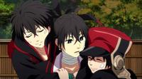 Manga/Anime Donten ni Warau  Genre : Shojo[Action, Drame, Historique et Surnaturel]