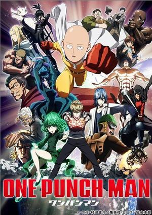 Manga/Anime One Punch Man Genre : Seinen[Action, Science-fiction et Comédie]