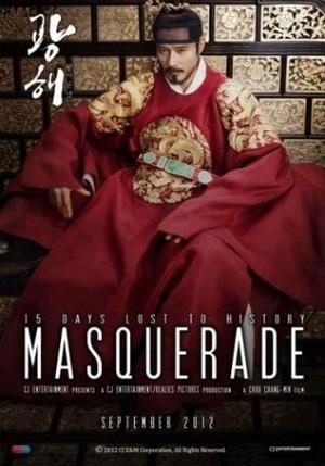 Film : Coréen Masquerade 131 minutes[Historique et Drame]
