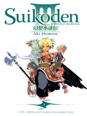 Manga Suikoden III  Genre : Seinen [Action, Drame, Aventure et Fantastique]