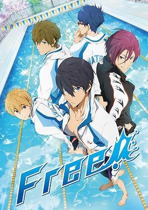 Anime Free! Saison 1 Genre : Shonen[Sport, Amitié, Comédie, Ecole et Tranche de vie]