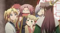 Anime  Reikenzan: Hoshikuzu-tachi no Utage Genre : Shonen[Comédie, Fantastique, Mythe et Tranche de vie]