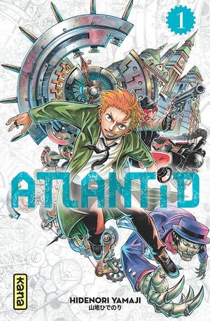 Manga Atlantid Genre : Shonen[Action, Science Fiction et Historique]