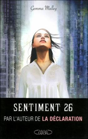 Sentiment 26 -> Gemma Malley