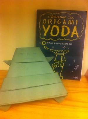 L' étrange cas Origami Yoda -> Tom  Angleberger