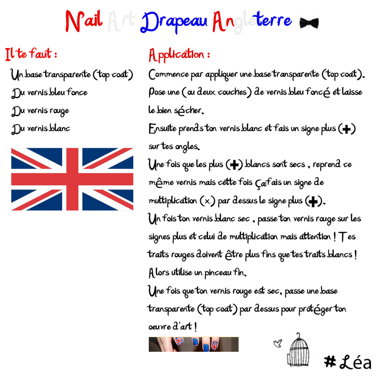 Nail art Angleterre