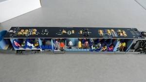 Mon réseau - L'autorail X 73500 Ho jouef avec ses passagers (3)