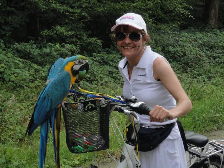 17 km à vélo avec mes zozios 2