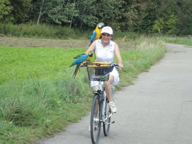 17 km à vélo avec mes zozios 4