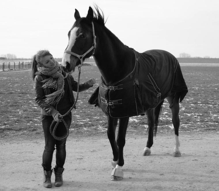 Pourtant on ne s'ennuie jamais car l'ennui vient quand on ne se regarde plus. Et on ne peut pas ne pas regarder un cheval, regarder l'autre, regardez le vraiment et jamais, jamais vous ne vous ennuierez. C'est ça le sentiment équestre et ça n'est rien d'autre que de l'amour.