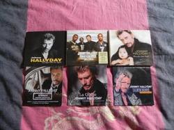 Les singles que je possède de Johnny Hallyday